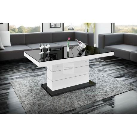 Ein representativer, höhenverstellbarerCouchtisch, im modernen Design gehalten. In paar Sekunden verwandeln Sie den Tisch in ei