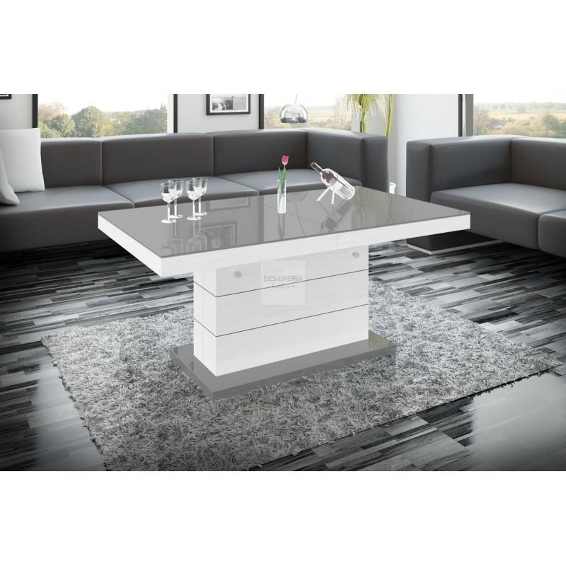 M lux2 couch esstisch ausziehbar bis 170cm for Designer tische couchtische