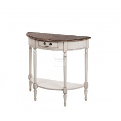 ♥ LIMENA console table half round