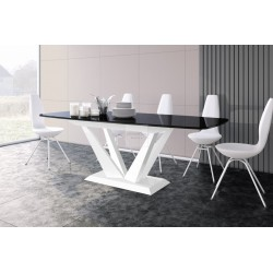PERFETTO black extendable up to 256cm