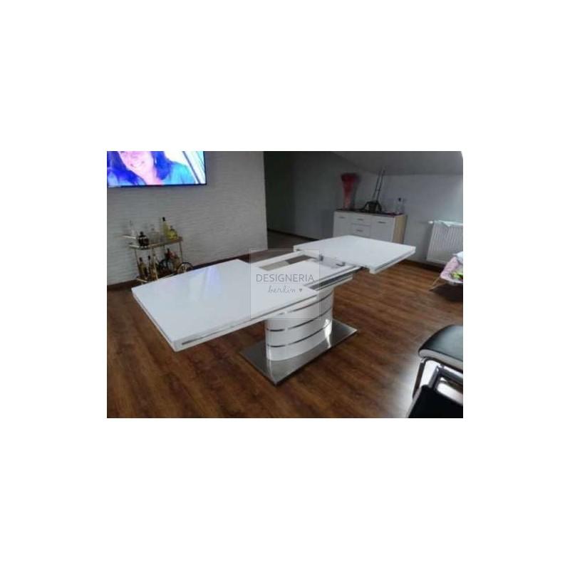 Esstisch Fano Dänisches Bettenlager ~ FANO Esstisch Säulentisch ausziehbar bis 220 cm