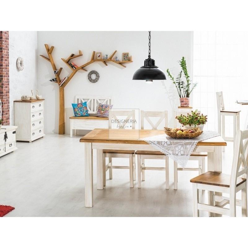poprad esstisch landhaus. Black Bedroom Furniture Sets. Home Design Ideas