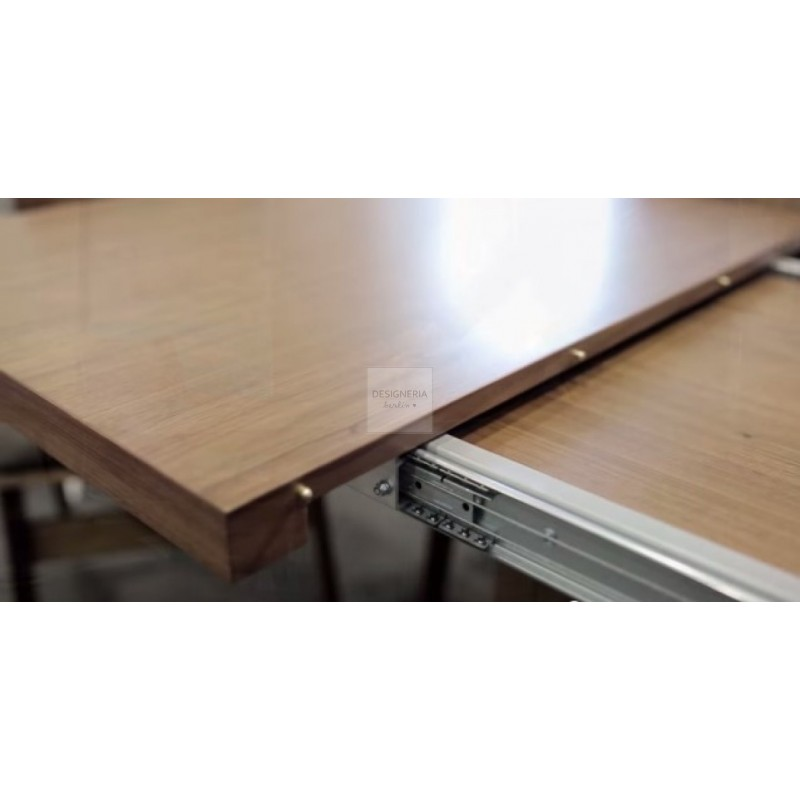 Evi dining table extendable 3 sizes available for Table 80x120