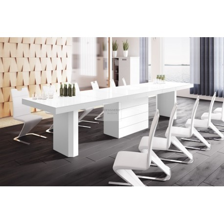 COLOSSUS white extendable up to 412cm