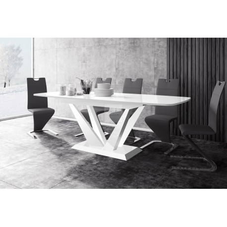 PERFETTO white extendable up to 256cm