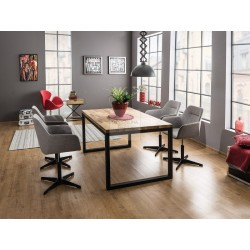LORAS 2 dining table OAK wood 180cm