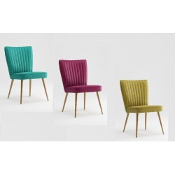 ERIC upholstered chair in LEO NEW